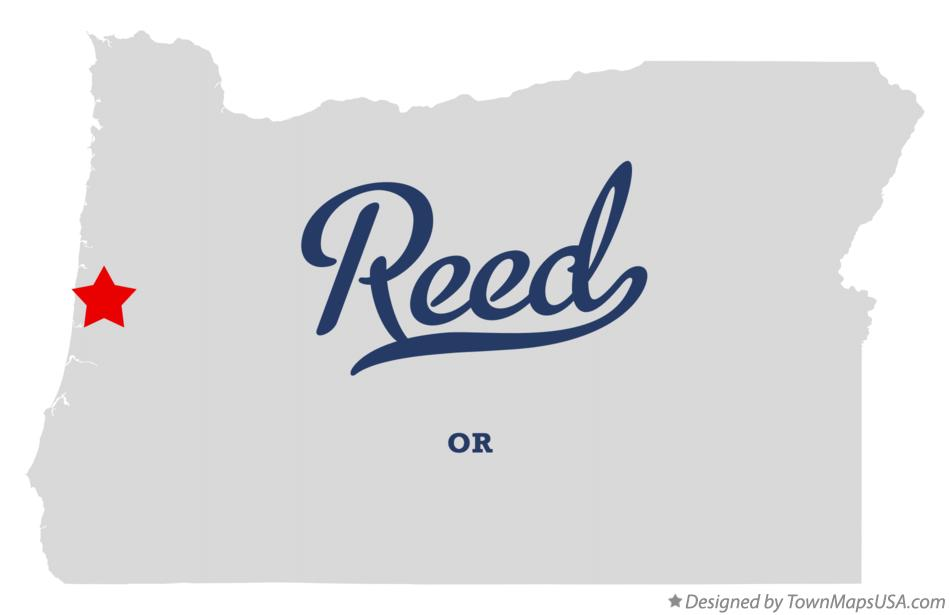 Map of Reed Oregon OR