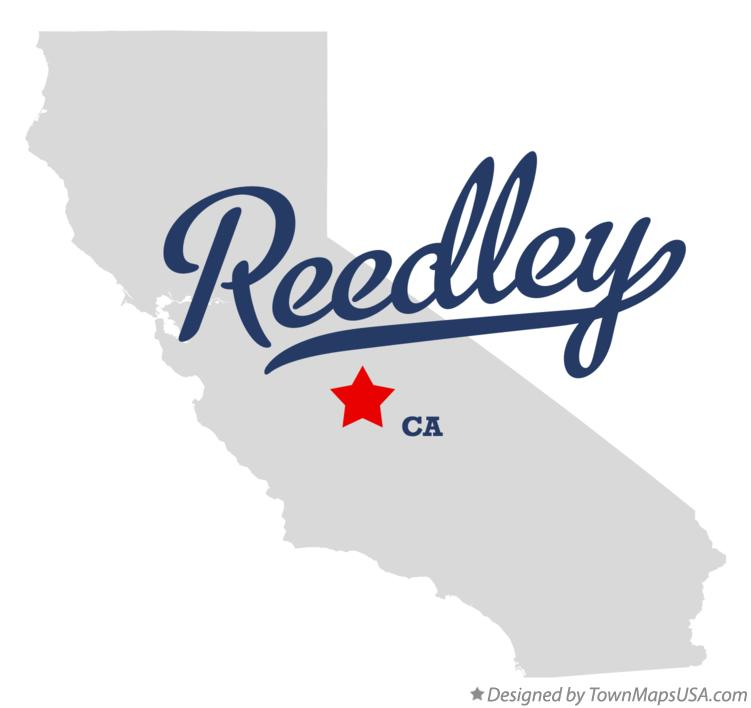 Map of Reedley California CA