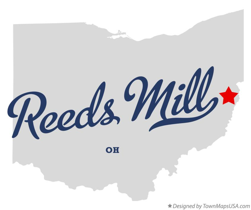 Map of Reeds Mill Ohio OH