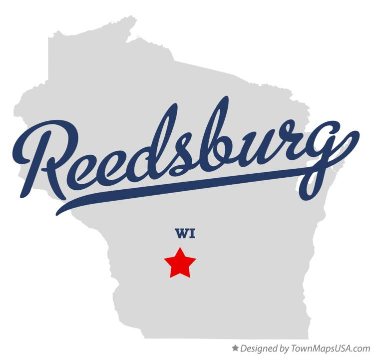 Map of Reedsburg Wisconsin WI