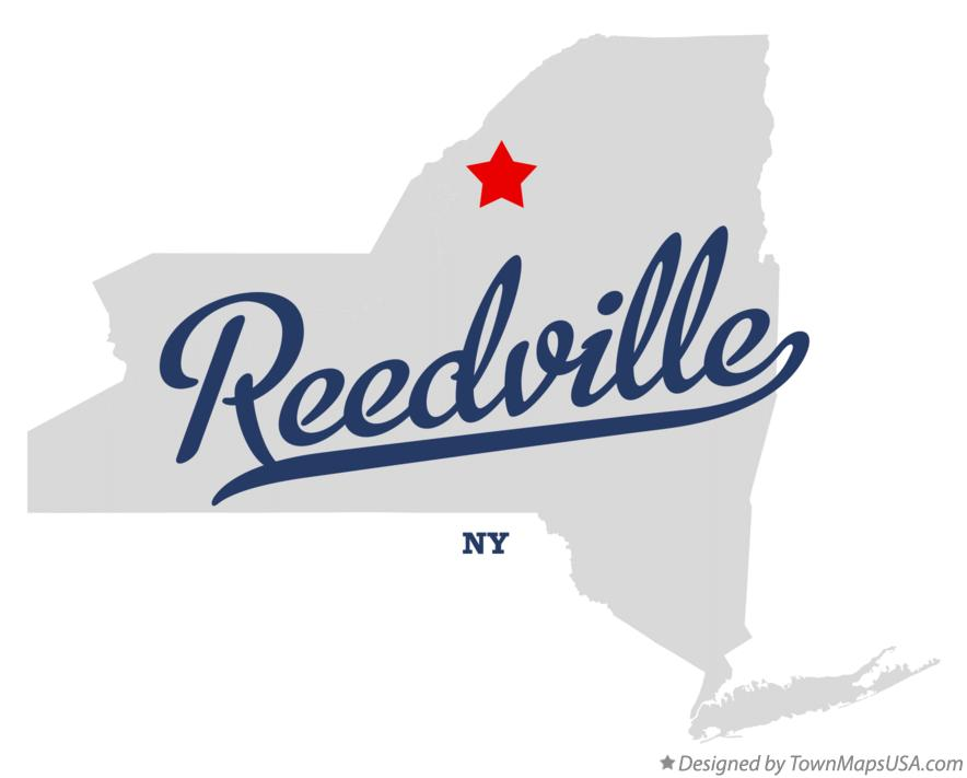 Map of Reedville New York NY