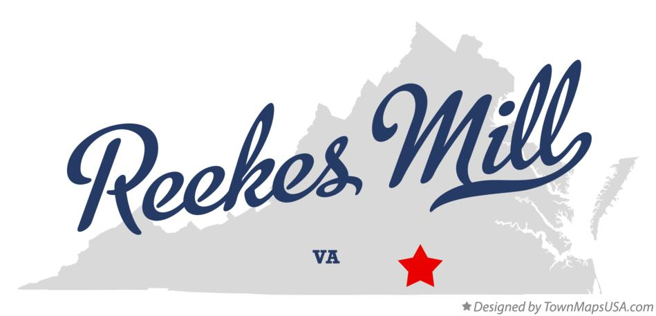 Map of Reekes Mill Virginia VA
