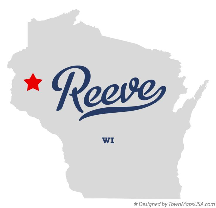 Map of Reeve Wisconsin WI