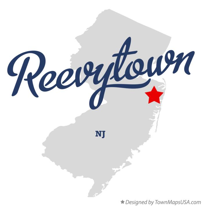 Map of Reevytown New Jersey NJ