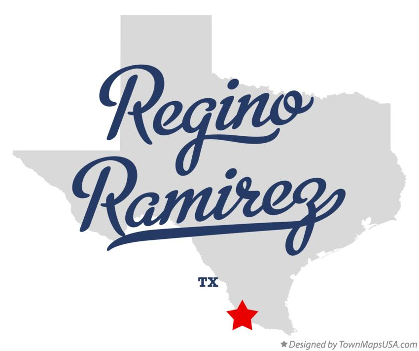 Map of Regino Ramirez Texas TX