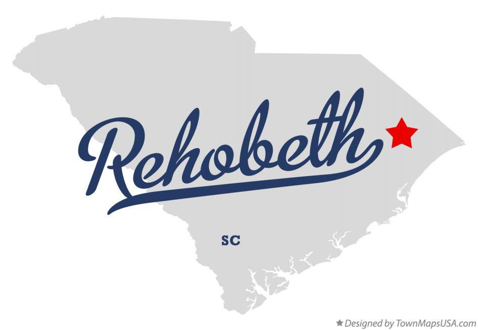 Map of Rehobeth South Carolina SC