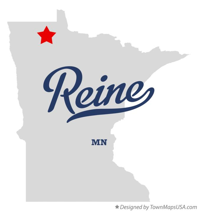 Map of Reine Minnesota MN