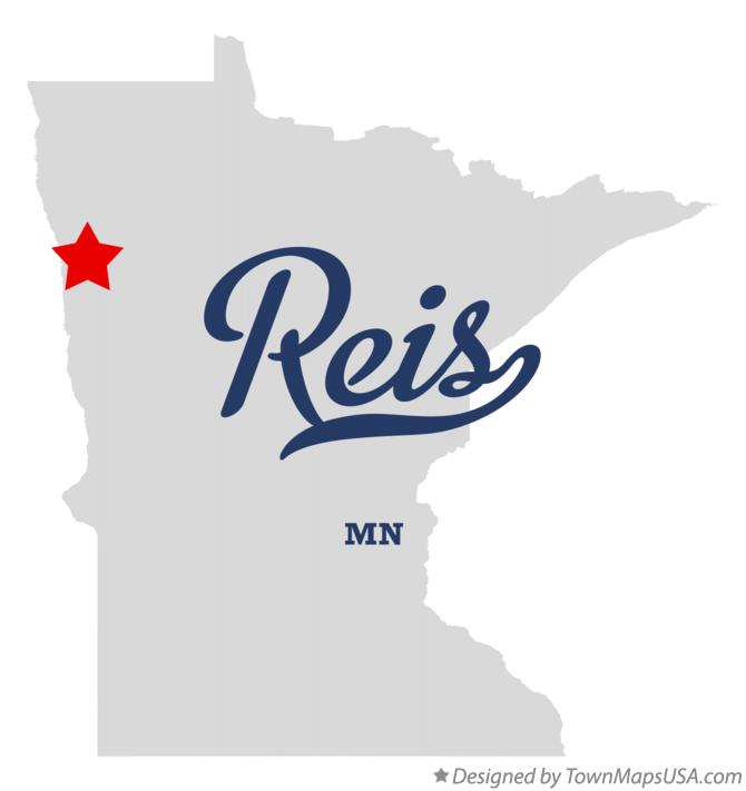 Map of Reis Minnesota MN