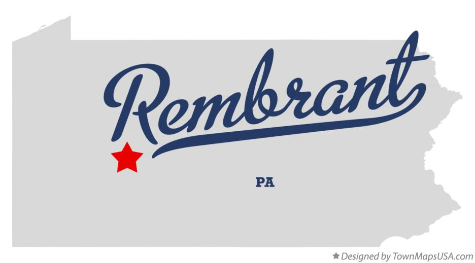 Map of Rembrant Pennsylvania PA