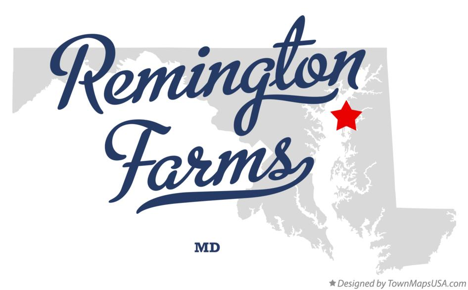 Map of Remington Farms Maryland MD