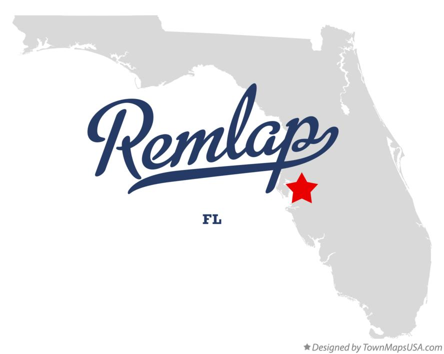 Map of Remlap Florida FL