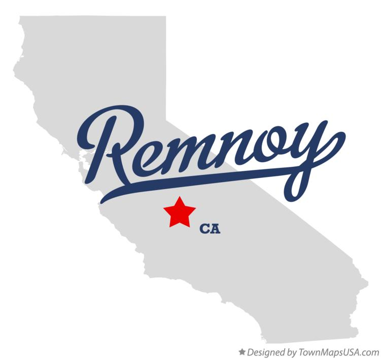 Map of Remnoy California CA