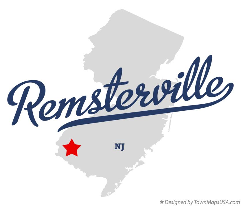 Map of Remsterville New Jersey NJ