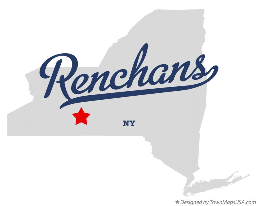 Map of Renchans New York NY