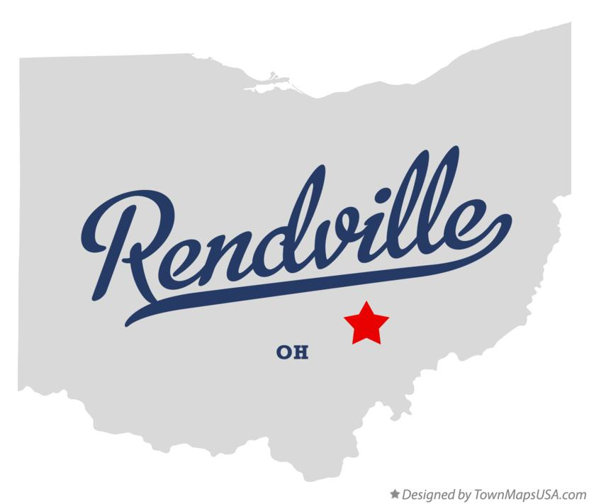 Map of Rendville Ohio OH