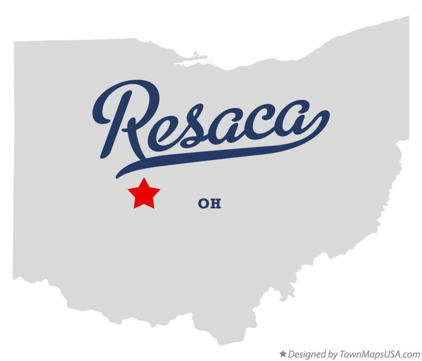 Map of Resaca Ohio OH