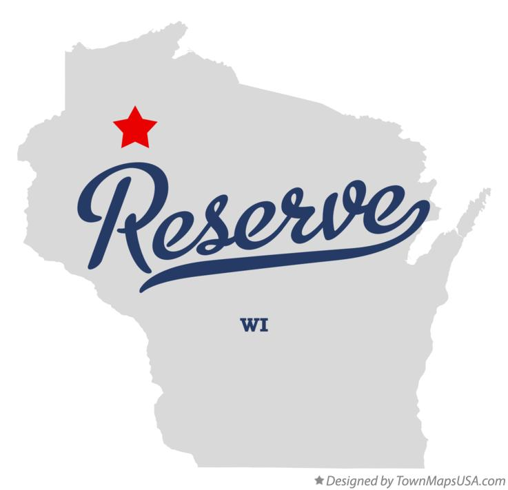 Map of Reserve Wisconsin WI