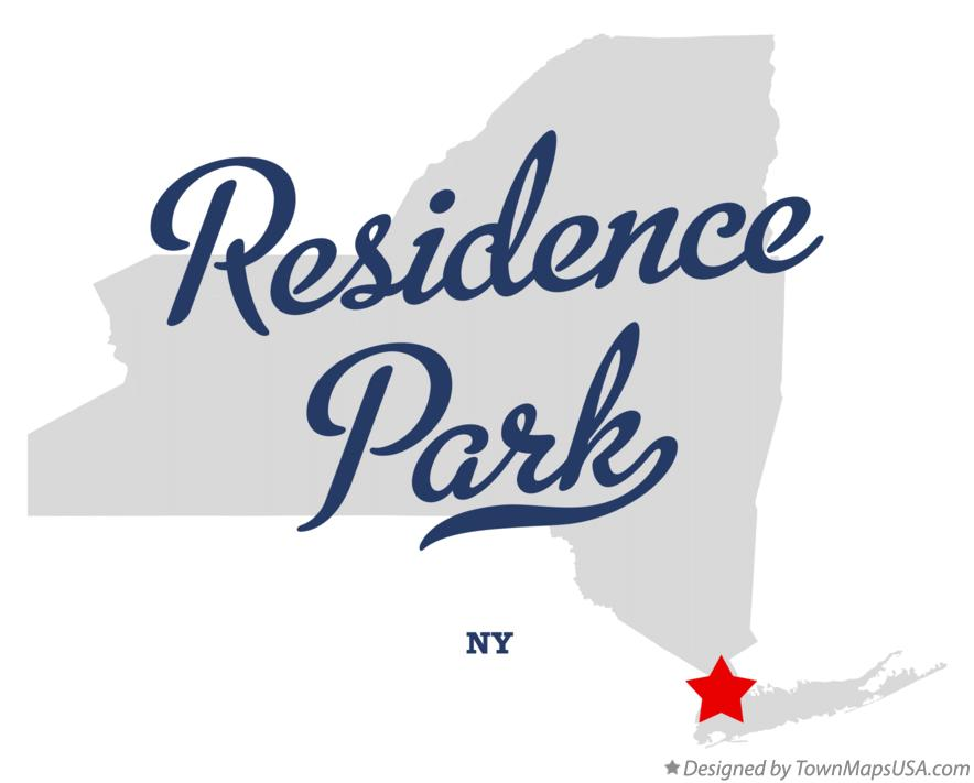 Map of Residence Park New York NY