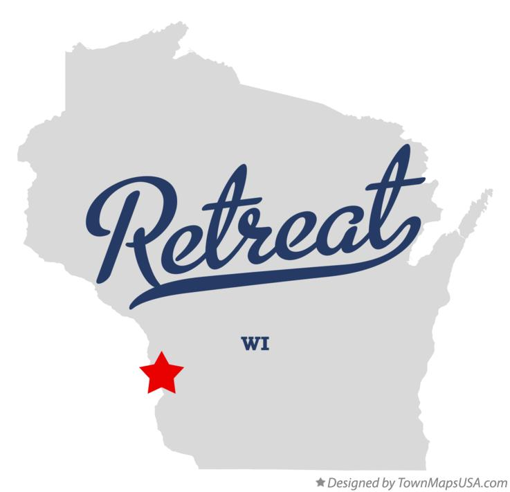 Map of Retreat Wisconsin WI