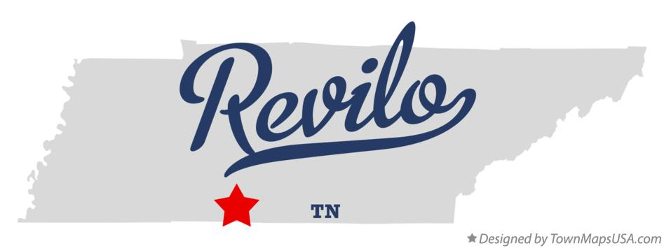 Map of Revilo Tennessee TN