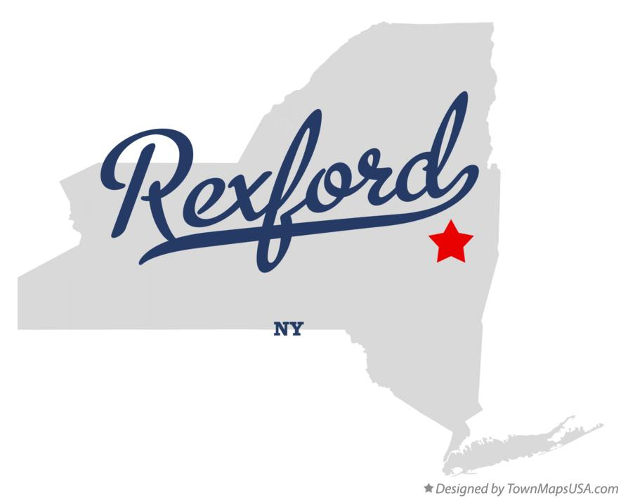 Map of Rexford New York NY