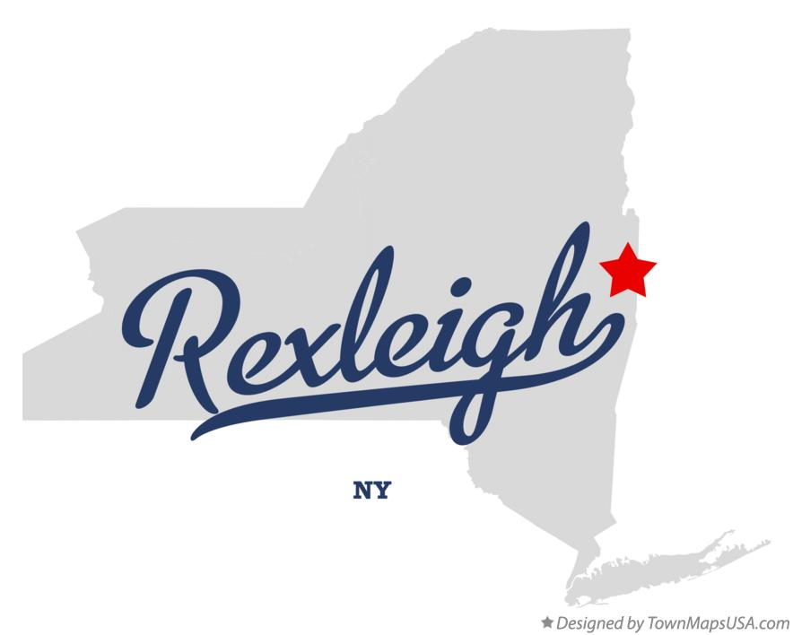 Map of Rexleigh New York NY
