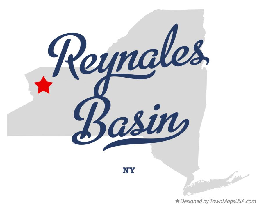 Map of Reynales Basin New York NY