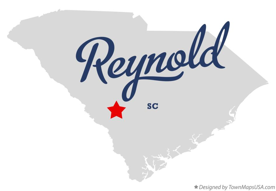 Map of Reynold South Carolina SC