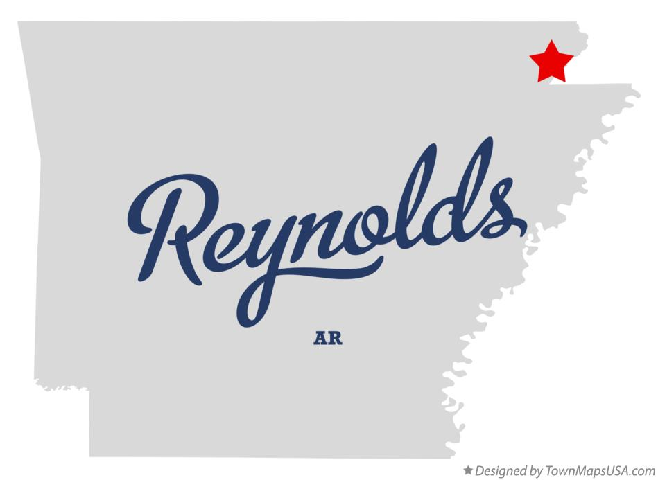 Map of Reynolds Arkansas AR