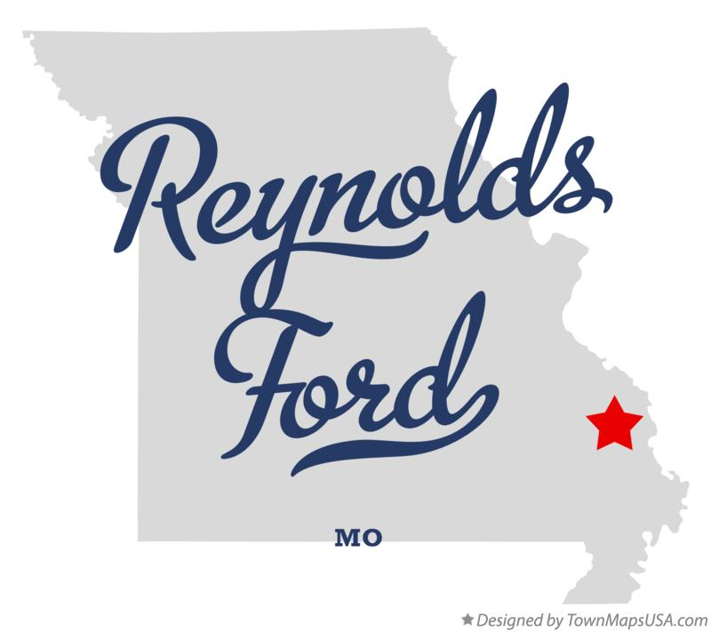 Map of Reynolds Ford Missouri MO