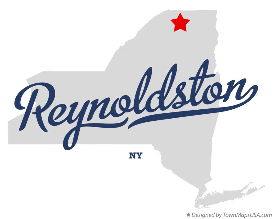 Map of Reynoldston New York NY