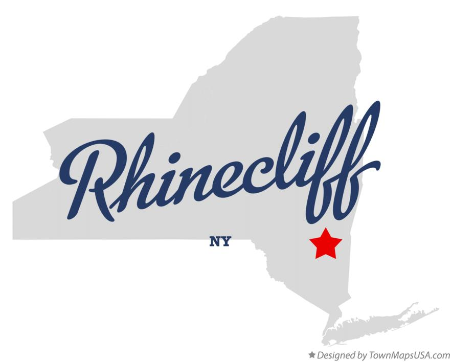 Map of Rhinecliff New York NY