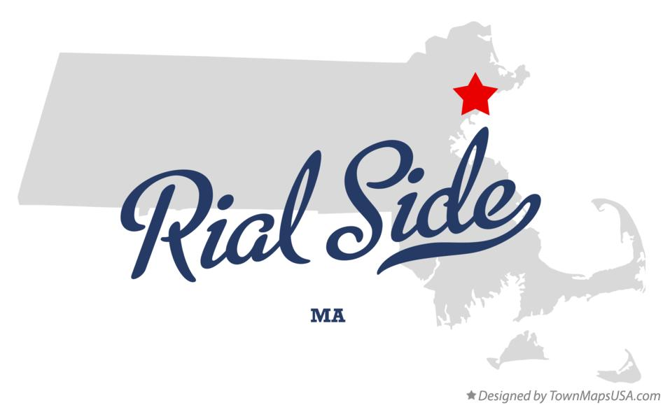 Map of Rial Side Massachusetts MA