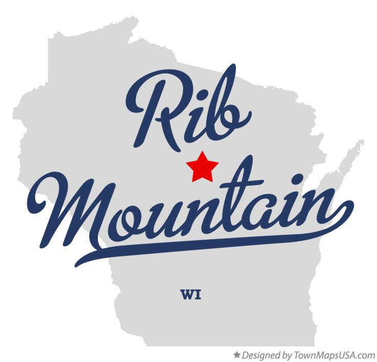 Map of Rib Mountain Wisconsin WI