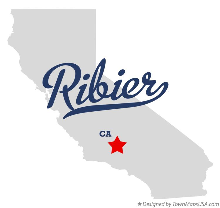 Map of Ribier California CA