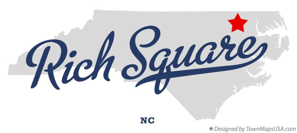 Map of Rich Square North Carolina NC