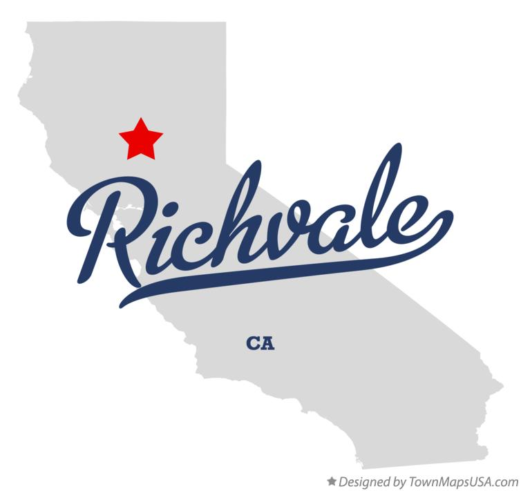 Map of Richvale California CA