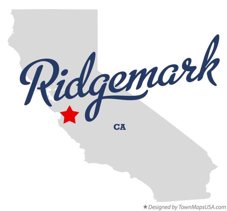 Map of Ridgemark California CA