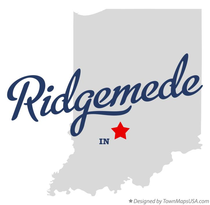 Map of Ridgemede Indiana IN