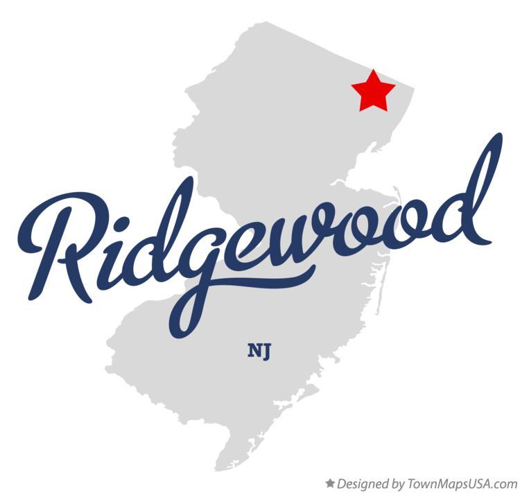 Ridgewood New Jersey Map.Map Of Ridgewood Nj New Jersey