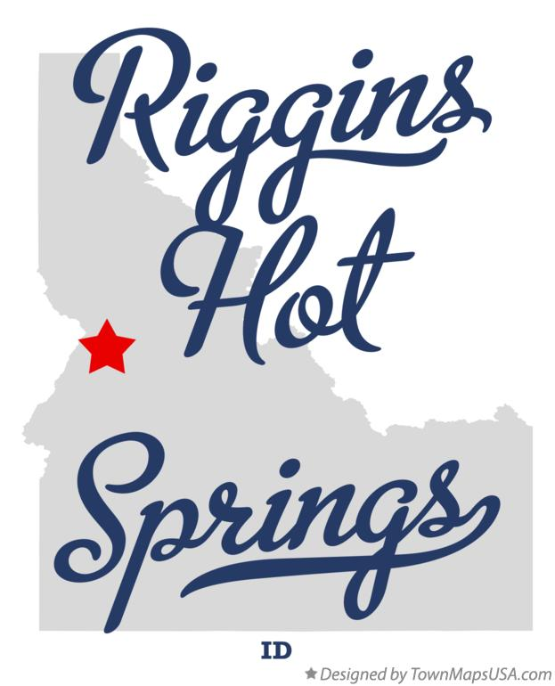 Map of Riggins Hot Springs Idaho ID