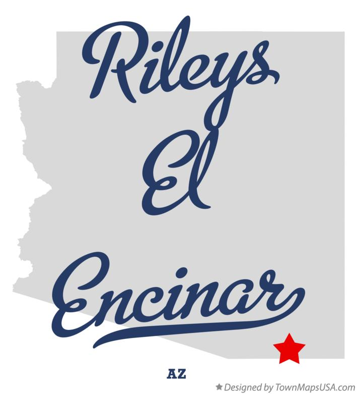 Map of Rileys El Encinar Arizona AZ