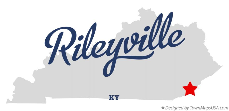 Map of Rileyville Kentucky KY