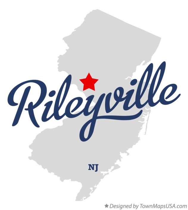 Map of Rileyville New Jersey NJ