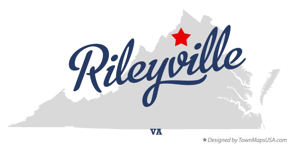 Map of Rileyville Virginia VA
