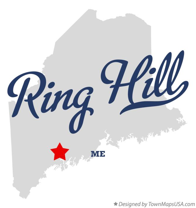 Map of Ring Hill Maine ME