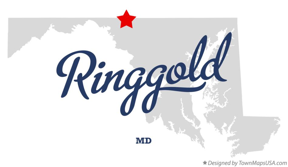 Map of Ringgold Maryland MD