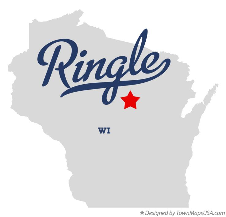 Map of Ringle Wisconsin WI