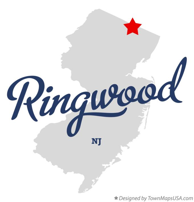 Map of Ringwood New Jersey NJ