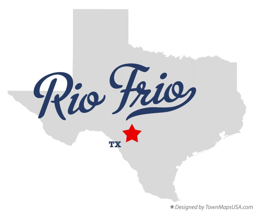 Map of Rio Frio Texas TX